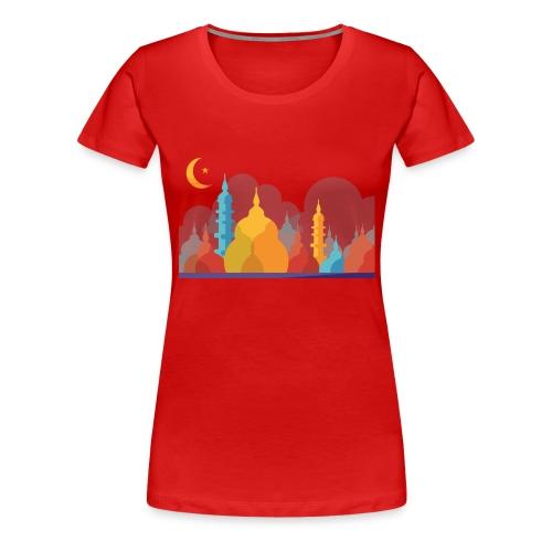 Mosque Renbo - Premium-T-shirt dam