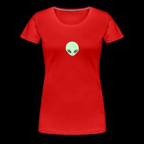 Alien-pet - Vrouwen Premium T-shirt