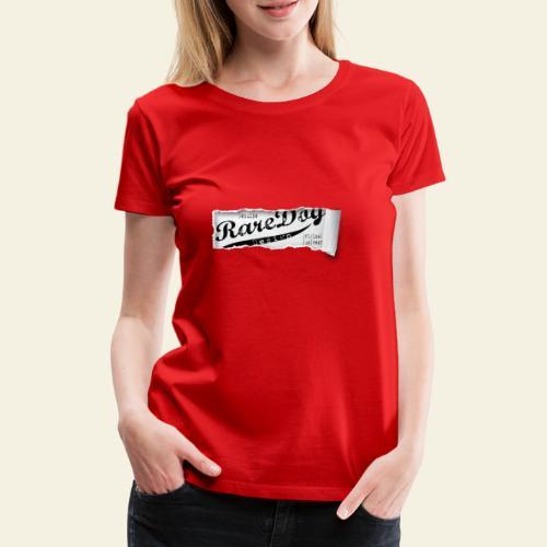 ripped paper - Dame premium T-shirt