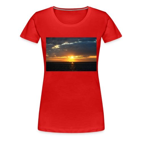 t-shirt zonsondergang - Vrouwen Premium T-shirt