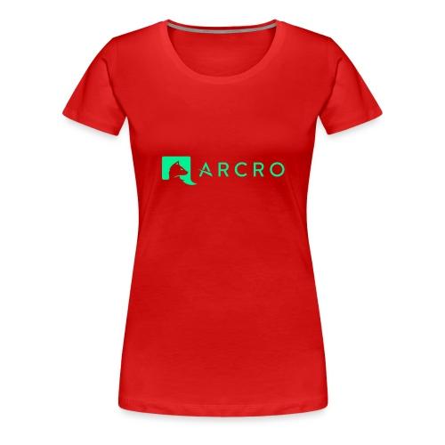 Arcro Clothing - Vrouwen Premium T-shirt