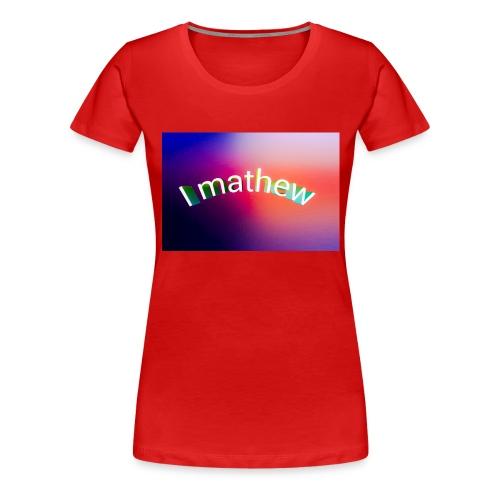 Prodotti I M4thew - Maglietta Premium da donna