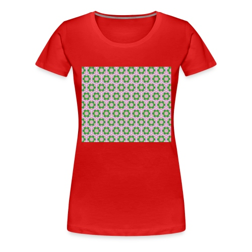 Korean Pattern - Frauen Premium T-Shirt