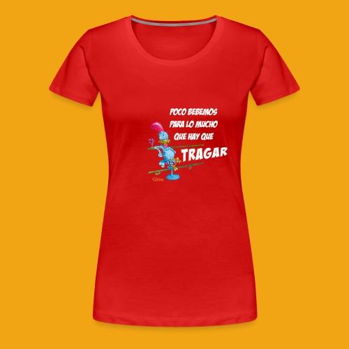 CAMISETA GALLO - Camiseta premium mujer