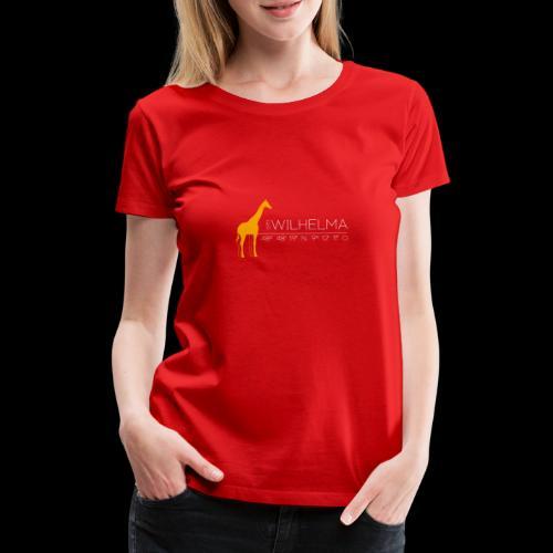 Wilhelma Giraffe - Frauen Premium T-Shirt