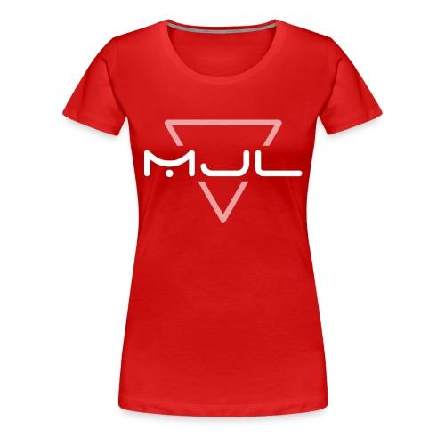 MJL (White Logo) - Frauen Premium T-Shirt