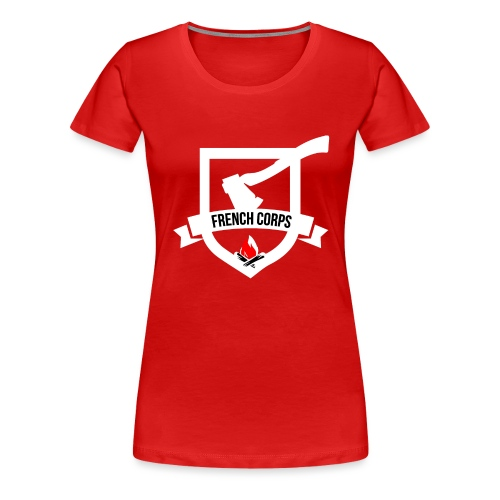 FrenchCorps - T-shirt Premium Femme