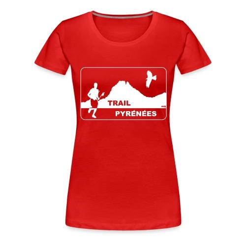 Trail Pyrénées V4 - T-shirt Premium Femme
