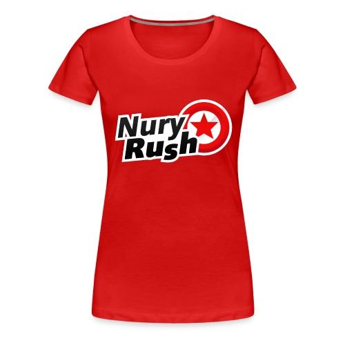 NuryRush Logo png - Maglietta Premium da donna