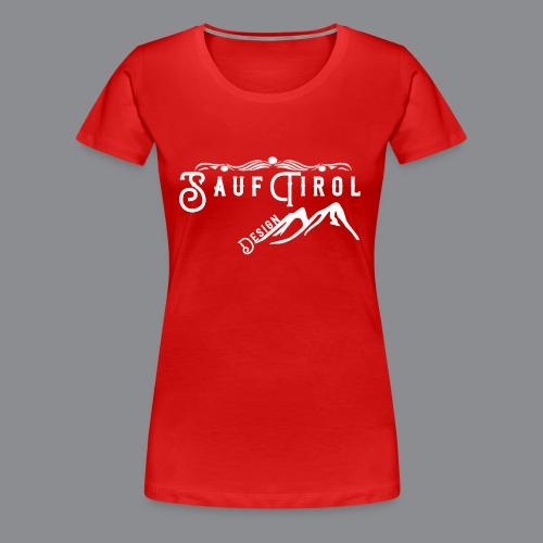 Sauftirol Weiss - Frauen Premium T-Shirt