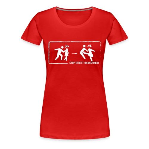 Stop street harassment: We don't touch! - Women's Premium T-Shirt