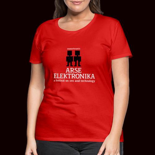 arseelektronika logo - Women's Premium T-Shirt