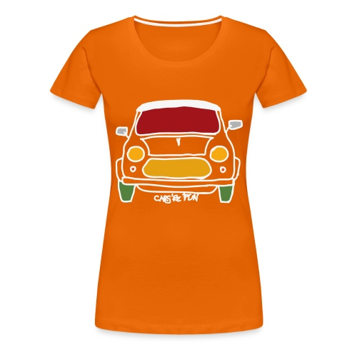 Voiture ancienne anglaise - T-shirt Premium Femme