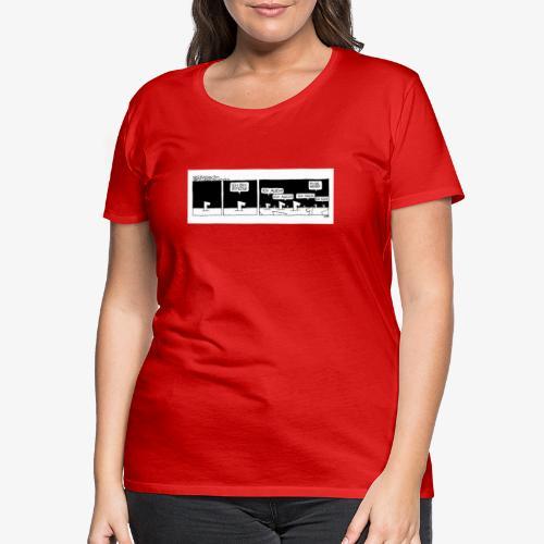 Es war 1x - Frauen Premium T-Shirt