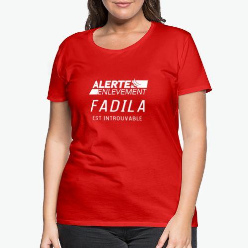 ALERTE ENLEVEMENT - T-shirt Premium Femme