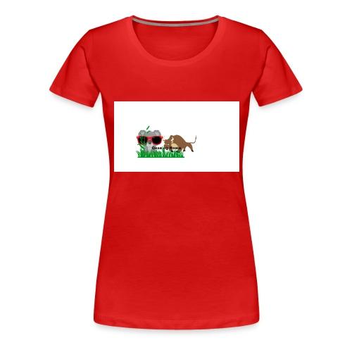 YOUTUBE_OKSE_OG_KOALA - Premium T-skjorte for kvinner