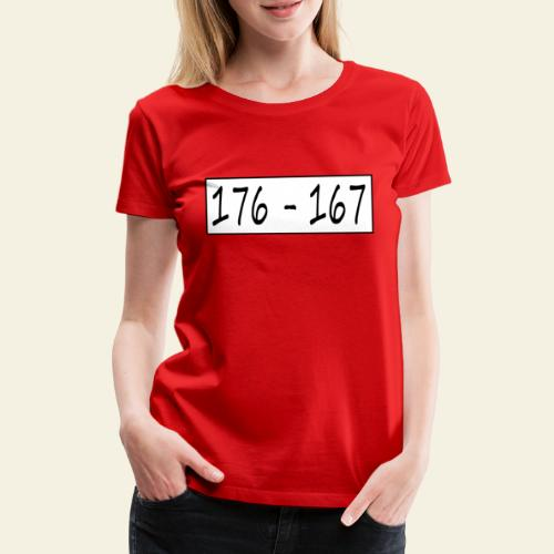 176167 - Dame premium T-shirt