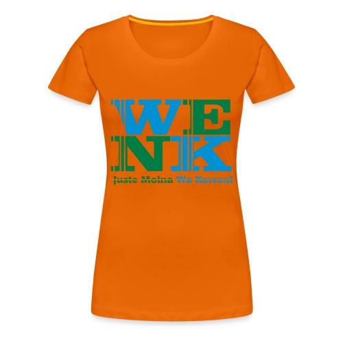 WENK - T-shirt Premium Femme