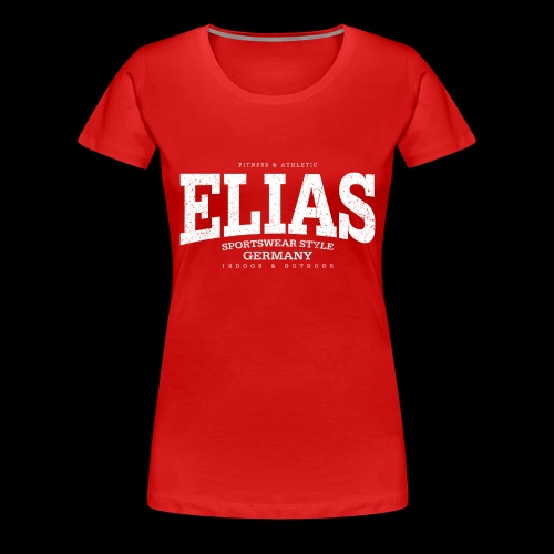 Elias (white oldstyle) - Frauen Premium T-Shirt