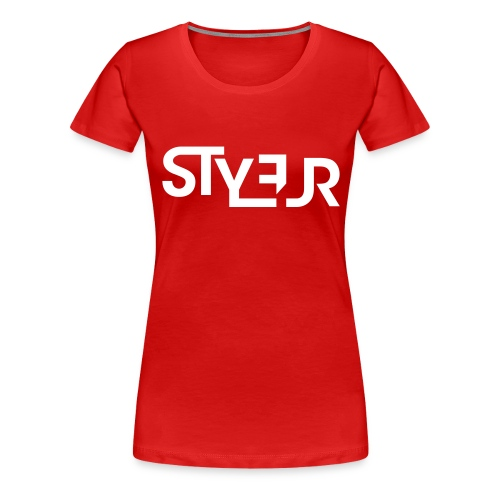 styleur logo spreadhsirt - Frauen Premium T-Shirt