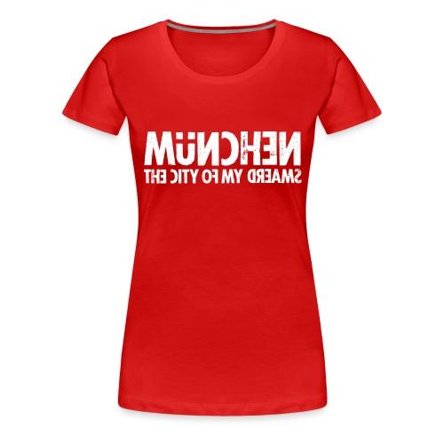 München (white oldstyle) - Frauen Premium T-Shirt