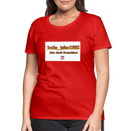 quer durch deutschland - Frauen Premium T-Shirt