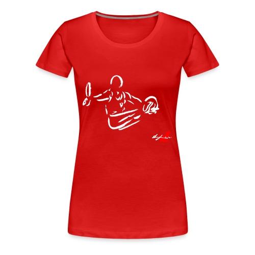 GINNASTA AGLI ANELLI - Maglietta Premium da donna