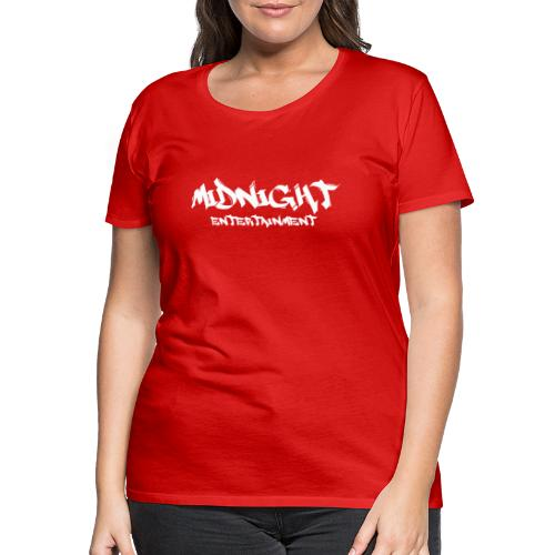 Midnight Entertainment weiss - Frauen Premium T-Shirt