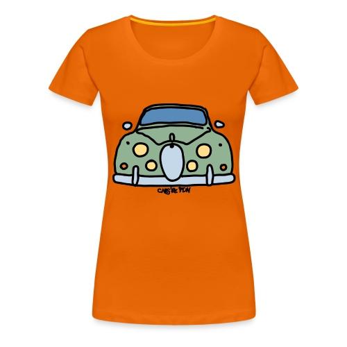 voiture mythique anglaise - T-shirt Premium Femme