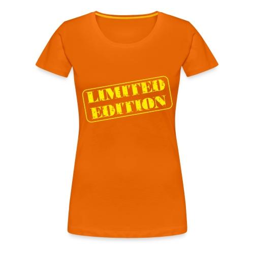 Limited Edition - Frauen Premium T-Shirt