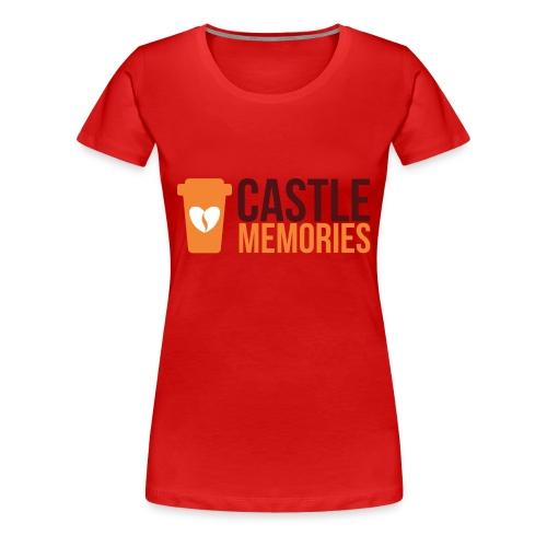 Castle Memories Cup - Maglietta Premium da donna