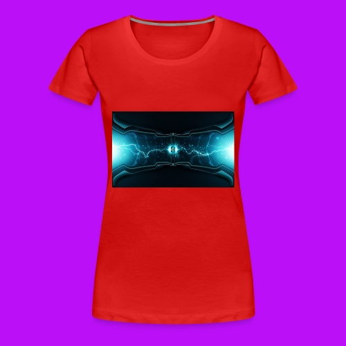 lightning cell - Women's Premium T-Shirt