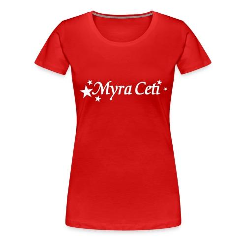 TMC_logo_wit-zondertekst - Vrouwen Premium T-shirt