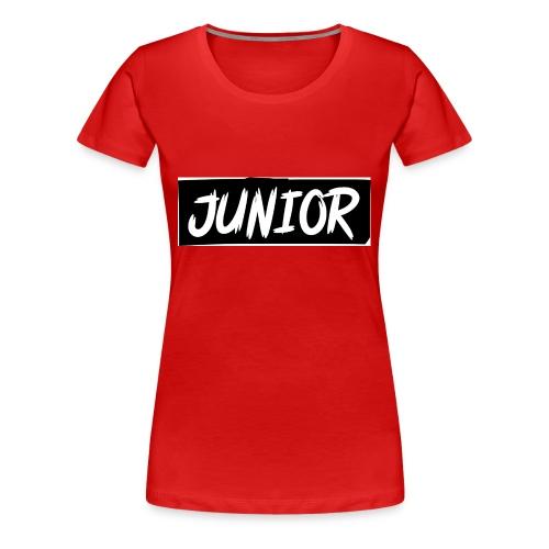 SCHWARZ-WEIß JUNIOR - Frauen Premium T-Shirt