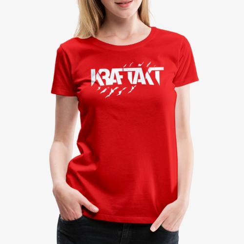 KRAFTAKT CLAW LOGO - Frauen Premium T-Shirt