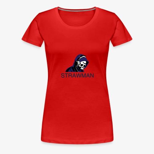 strawman logo - Women's Premium T-Shirt