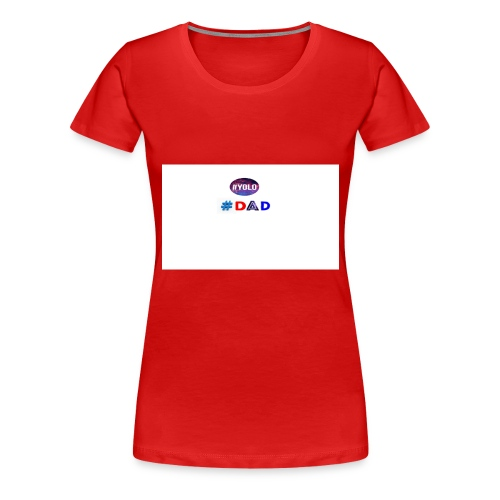 dad merch - Women's Premium T-Shirt