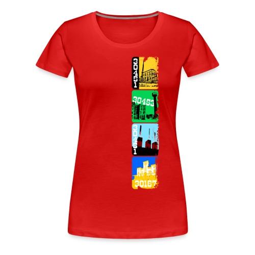 Stadtansichten Hannover Set 03 - Frauen Premium T-Shirt