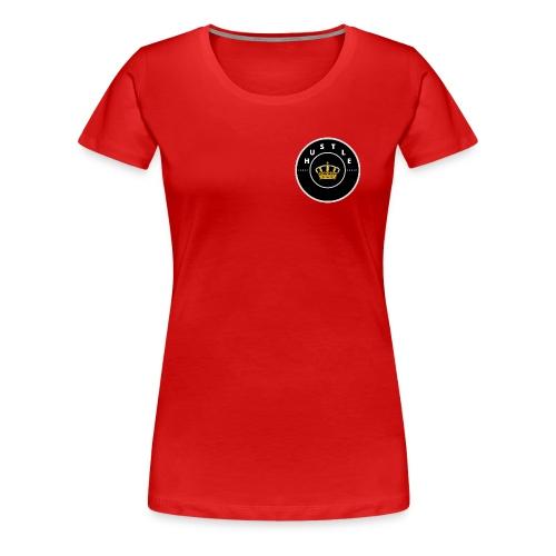 Hustle - Naisten premium t-paita