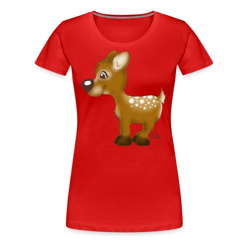 Kira Kitzi - Frauen Premium T-Shirt