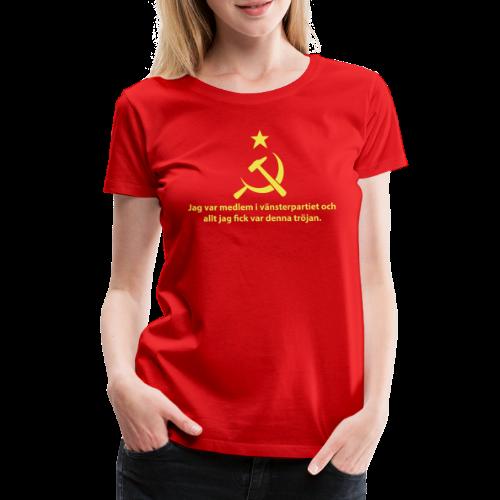 Vänsterpartiet Kommunisterna - Premium-T-shirt dam