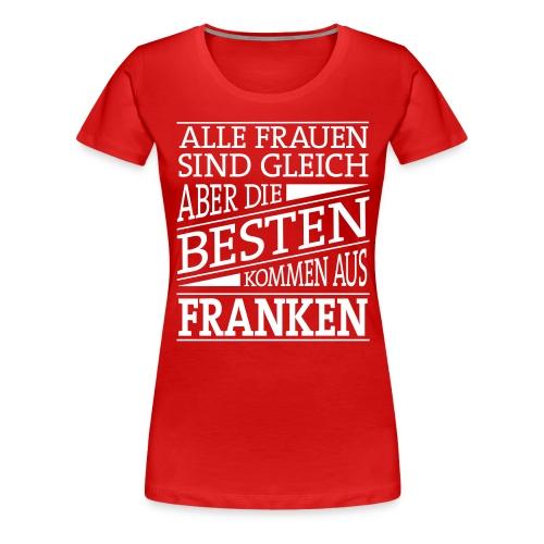 1_spruch_frauen - Frauen Premium T-Shirt