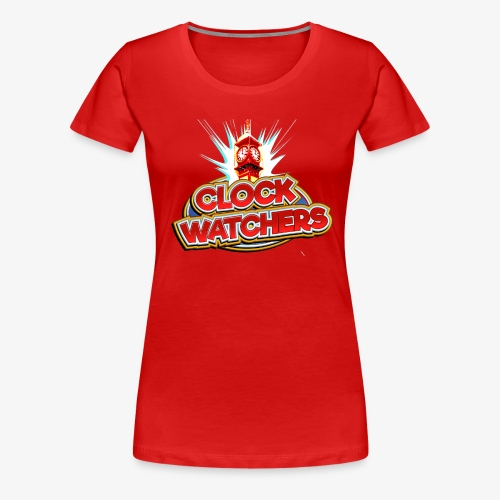 The Clockwatchers logo - Women's Premium T-Shirt