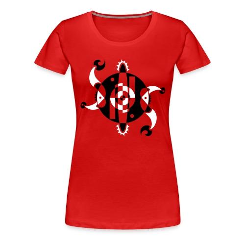 New Age Shirt Design - Frauen Premium T-Shirt