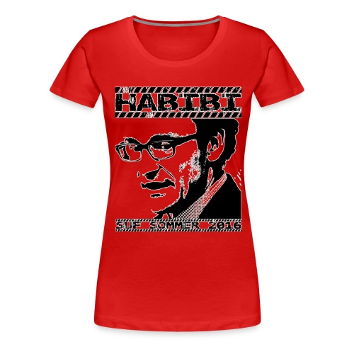 t-shirt final bitmap kopi - Dame premium T-shirt