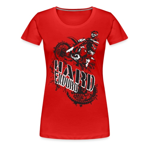 hard enduro - Koszulka damska Premium