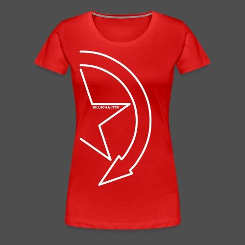 Brand logo 1/2 9KS07WE - Women's Premium T-Shirt