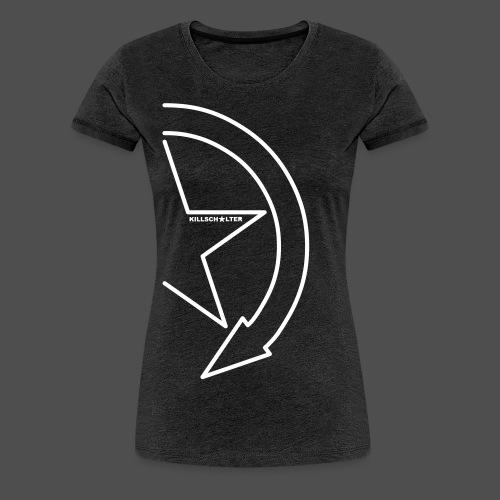 Logo marki 1/2 my - Koszulka damska Premium
