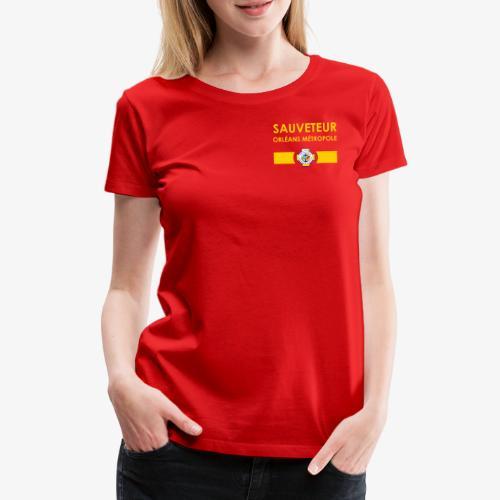 Gamme Sauveteur Aquatique - T-shirt Premium Femme