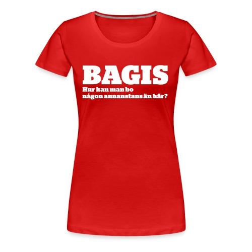 ngonannanstans vit - Premium-T-shirt dam